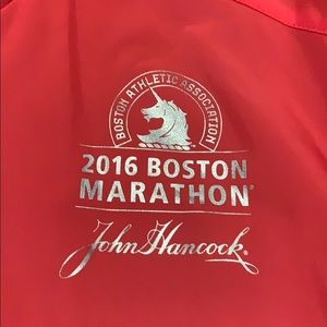 Boston Marathon 2016 Volunteer Jacket